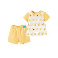 婴儿家居服 男童上衣短裤居家套装