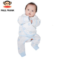 PWU1743063大嘴猴(paul frank)婴儿长袖系带套装新生儿纯棉内衣一入装