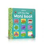 顺丰发货 英文原版进口绘本 Lift the Flap Word Book (Board) 学单词 英语启蒙纸板翻翻书