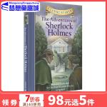 英文原版 Classic Starts: The Adventures of Sherlock Holmes 夏洛克福