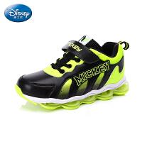 【99元2双】迪士尼童鞋秋冬季男童旅游鞋中童高帮慢跑鞋 (5-10岁可选) DS2105