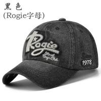 韩版潮春夏帽子休闲男士棒球帽 户外女秋天牛仔帽遮阳帽鸭舌帽男 可调节
