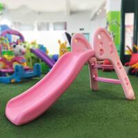 小型加厚滑梯室内儿童塑料滑梯家用宝宝加长上下可折叠滑滑梯玩具