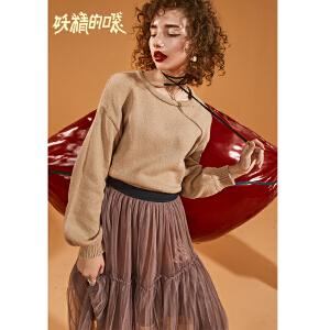 【低至1折起】妖精的口袋Y早秋甜美套装女韩版秋冬装2018新款两件套时尚洋气裙
