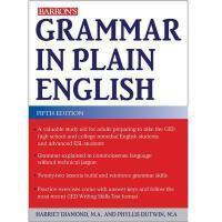 【预订】Grammar in Plain English