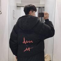 冬季男士棉服新款韩版潮流ins棉衣中长款面包服情侣外套棉袄