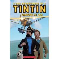 Popcorn Readers:Tintin 2: Danger At Sea with CD 书+CD 丁丁历险记