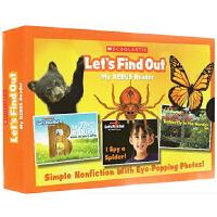 Let's Find Out My Rebus Readers 学乐小学课外阅读自然科普绘本 感知自然的英语分级读物 绿山墙
