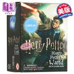 【中商原版】哈利波特:魔杖和贴纸书套装 英文原版 Harry Potter Wizard's Wand with St