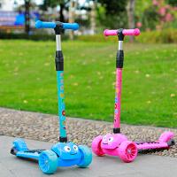 滑板车儿童三四轮宝宝初学者闪光溜滑滑车3-6-14岁小男孩2