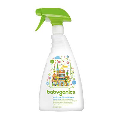 保税区发货(20年12月) Baby Ganics/宝贝甘尼克 多用途表面清洁剂 无香 32 fl.oz/946ml海外购