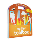 英文原版【Twirl】 My First Toolbox 我的一个工具箱 机关操作书 亲子互动读物 撕不烂方便手提玩具