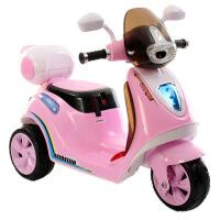 新品儿童电动小摩托2-6岁宝宝带遥控三轮电动车坐可充电男孩女孩电动摩托车三轮车 +遥控器