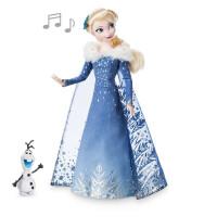冰雪奇缘玩具Elsa爱莎艾莎公主娃娃非巴比女孩生日礼物 30cm