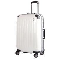 银座 高档铝框亮面拉杆箱 男女万向轮旅行箱子 学生行李箱包A1037-2K