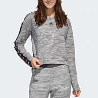 Adidas阿迪达斯秋季女子圆领长袖运动休闲套头衫卫衣GE1130