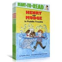 【全场300减100】送音频 原版英文Henry and Mudge Ready-to-Read Value Pack