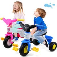 儿童三轮车脚踏车男女宝宝玩具婴幼儿轻便自行车1-3岁