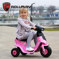 儿童电动车摩托车小孩可坐玩具童车三轮车1-3岁