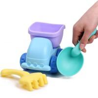 儿童沙滩玩具套装婴儿沙漏车沙子挖沙铲戏水宝宝洗澡小孩