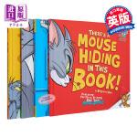 【中商原版】猫和老鼠互动故事绘本系列套装4册 英文原版 Tom and Jerry 卡通动画 3-8岁 游戏书