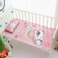 婴儿凉席冰丝夏季小宝宝婴儿床凉席透气幼儿园儿童午睡席子