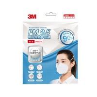 【支持礼品卡】3M口罩 防pm2.5口罩防雾霾 耳带式带呼气阀3枚装口罩
