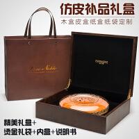 燕�C�Y盒木盒包�b盒八角�凸藕凶优��l�Y品盒定制通用袋子 空盒