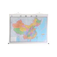 中国全图(四全 专业挂图 实木卷轴精装版)