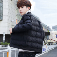 男士棉衣冬季2018新款衣服韩版潮流短款羽绒冬装加厚棉袄外套