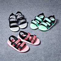 夏季新款儿童露趾沙滩鞋男女童平底凉鞋中大童宝宝鞋