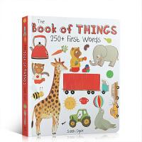 英文原版The Book of Things: 250+ First 100 Words 主题式 图画词典 词汇认知