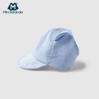迷你巴拉巴拉婴儿棒球帽2019年夏季新款男女宝宝萌萌儿童可爱帽子