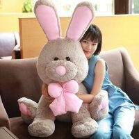 毛绒公仔娃娃送女生 大兔子邦尼长耳兔公仔玩偶毛绒玩具可爱布娃娃送女孩生日礼物 美国大兔子