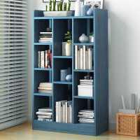 书架简约落地家用学生多层卧室收纳架置物架客厅储物柜简易小书柜