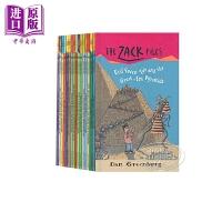 【中商原版】扎克档案#16-30 Zack Files 15册 儿童桥梁章节文学 友谊冒险故事 插图故事书套装 英文原版