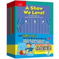 美国加州少儿英语分级阅读2 少儿童英语分级阅读物 宝宝0-3岁幼儿园小学生一年级自然拼读口语听说带音频原版书预备级培生