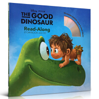 英文原版 The Good Dinosaur 恐龙当家 Disney Read Along 附CD 迪士尼有声读物 迪