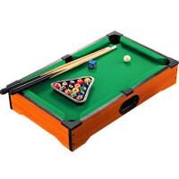 儿童台球桌室内迷你木质桌球大号台球玩具黑8桌面上家用亲子 大号台球51*31*11cm