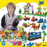 小颗粒积木3-6岁儿童玩具自由DIY拼装拼插积木6-12创意礼物