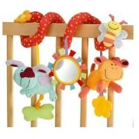多功能动物车床绕 婴儿床铃 宝宝床头铃摇铃床挂玩具