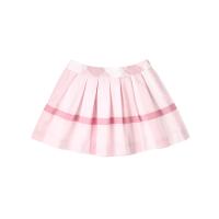 【网易严选 限时抢】格纹棉质褶皱短裙(女童)