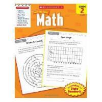 【现货】Scholastic Success With Math, Grade 2 学乐成功英语 2年级数学