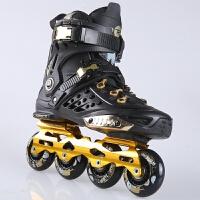 男女全闪 溜冰鞋轮滑鞋直排轮平花鞋花式鞋旱冰鞋