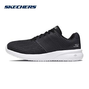 Skechers斯凯奇男新款网布镂空透气健步鞋 轻质减震运动鞋 55306
