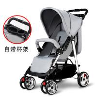 20190708070137659婴儿推车高景观轻便可坐可躺折叠避震四轮宝宝婴儿车手推车