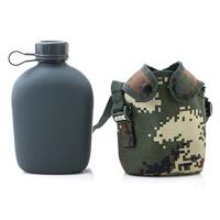 军训旅游水壶户外不锈钢水杯便携军用水壶
