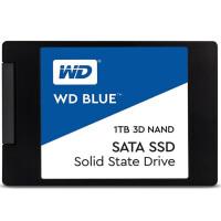 WD西部数据1T SSD固态硬盘 SATA3.0接口 Blue系列-3D进阶高速读写版 蓝盘