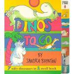 【预订】Dinos to Go: 7 Nifty Dinosaurs in 1 Swell Book