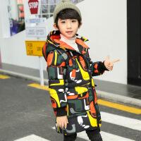 童装男童棉衣2018新款秋冬装中大儿童加厚保暖外套韩版男孩上衣潮